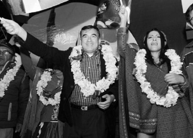 El Ministro de la Presidencia, Juan Ramón Quintana, Wilma Alano